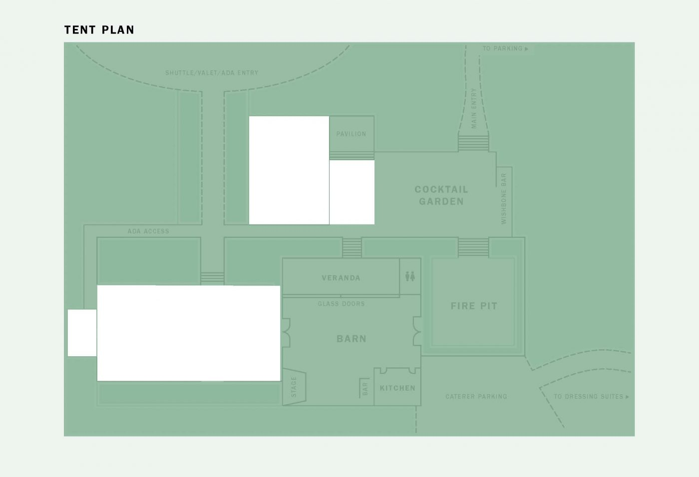 Venue Floor Plan with Tents
