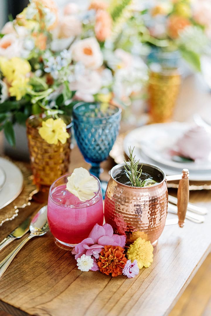 TwoWishesRanchEvents-Pink-Fruity-Cocktail-Lovely-Tablescape